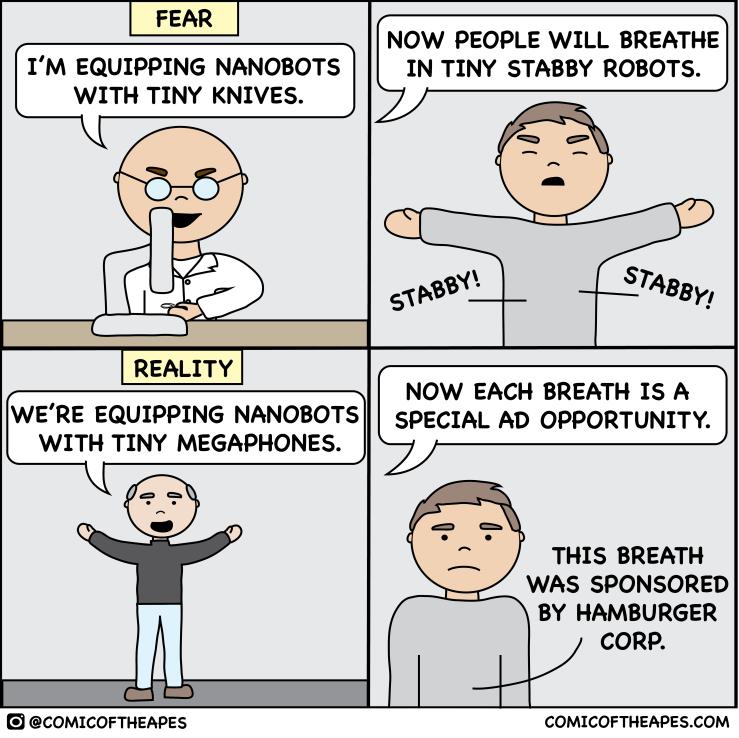 Nano bot comic