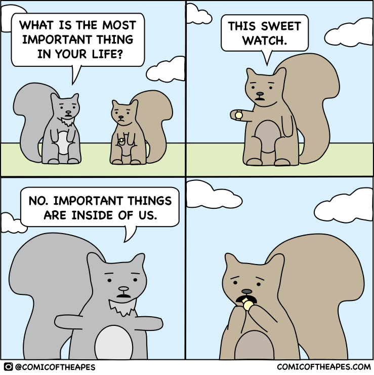 important things comic