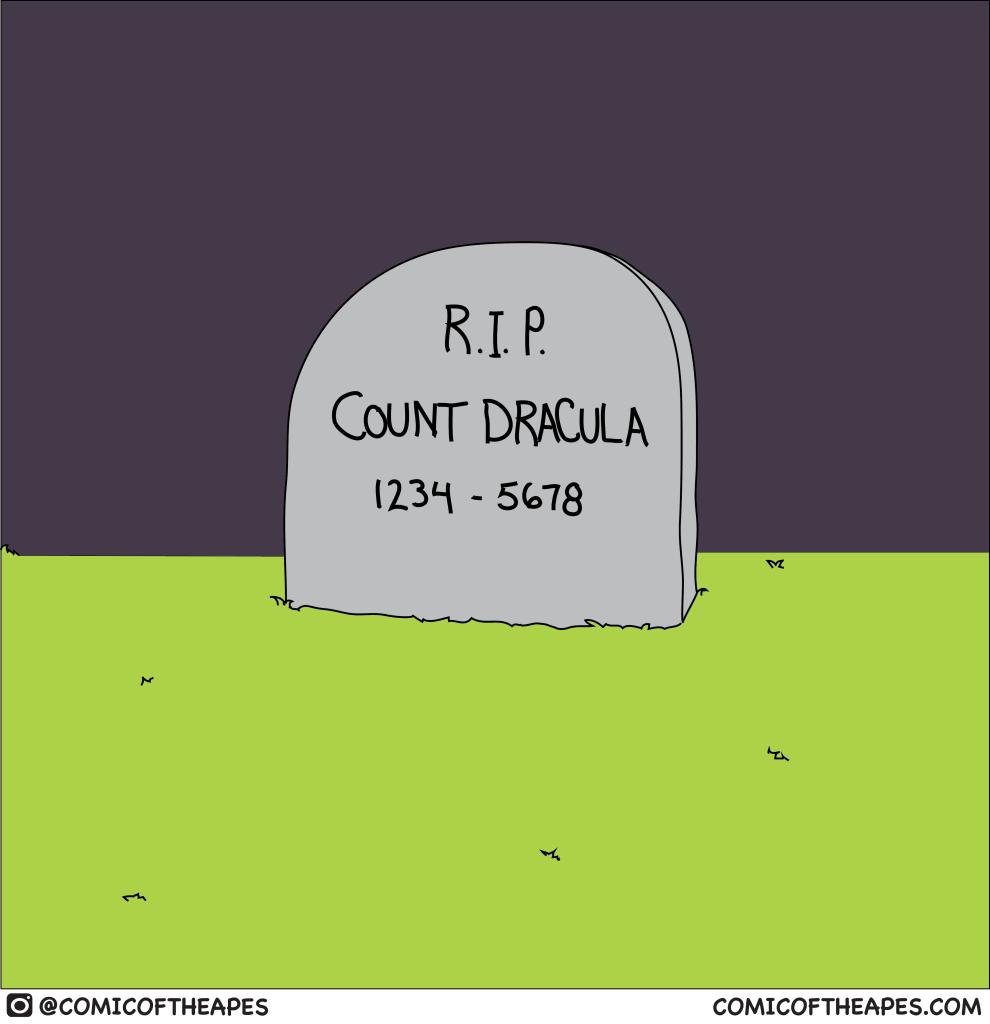 Count Dracula Comic
